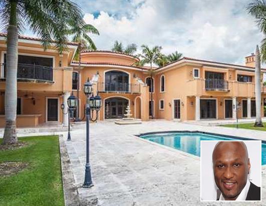 Lamar Odom Miami House Mansion